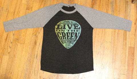 LOTG Guitar Pick Baseball Tee