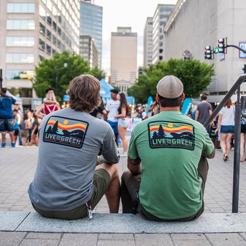 LOTG 2019 Green Outdoors Pocket Tee