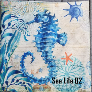 Pillow Cushion Covers Mermaids & Sea Life