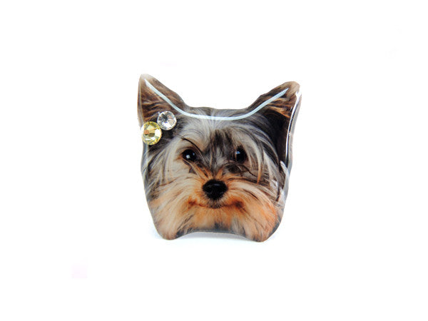 Yorkie Terrier Puppy Dog Ring