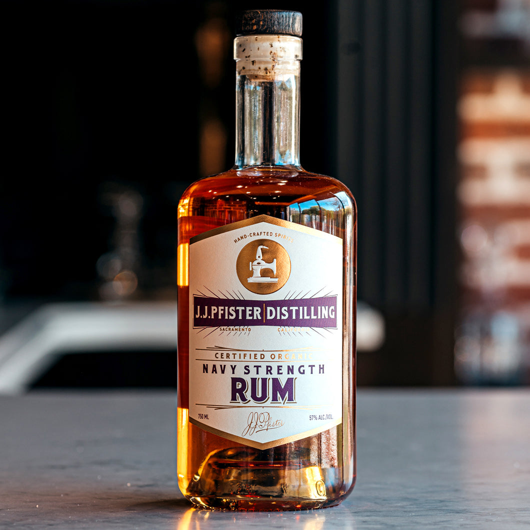 Navy Strength Rum
