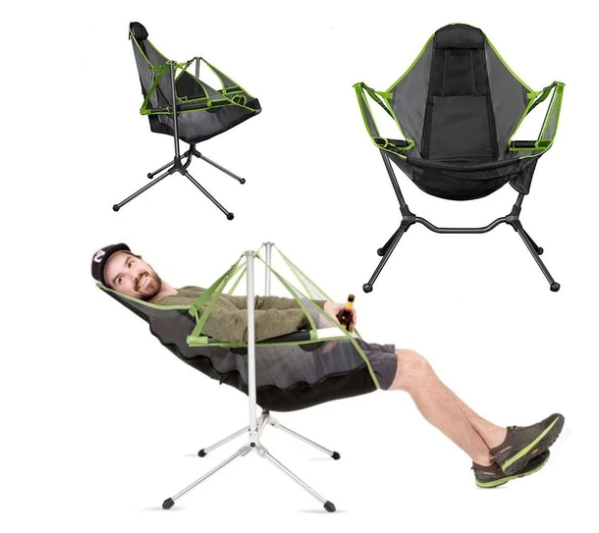 Recliner Luxury Camp Chair –