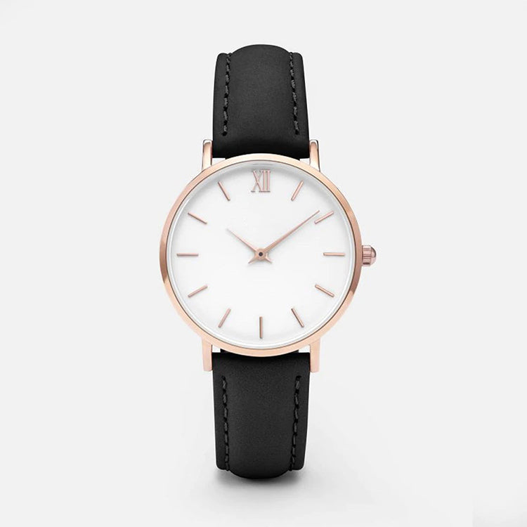 Fine Minimalist Watch (Black)