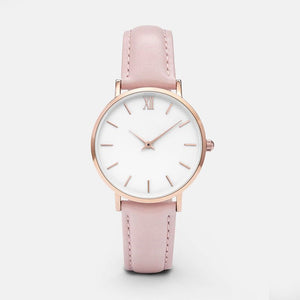 Fine Minimalist Watch (Pink)