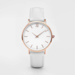 Fine Minimalist Watch (White)