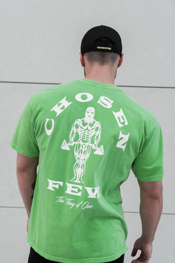 Retro 'OG' Gym Tee Hulk Green