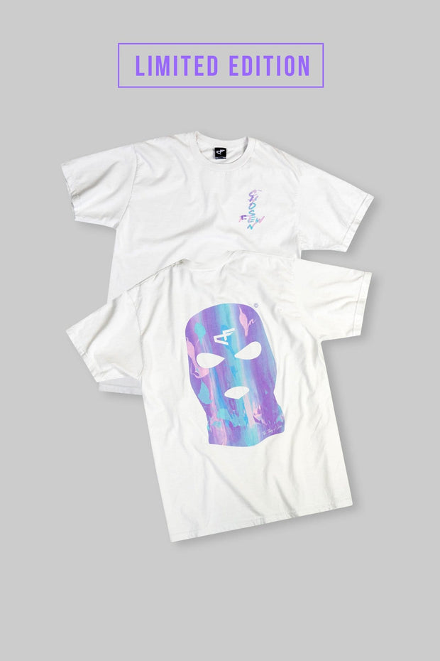 Bally Tee White Trippy Edition