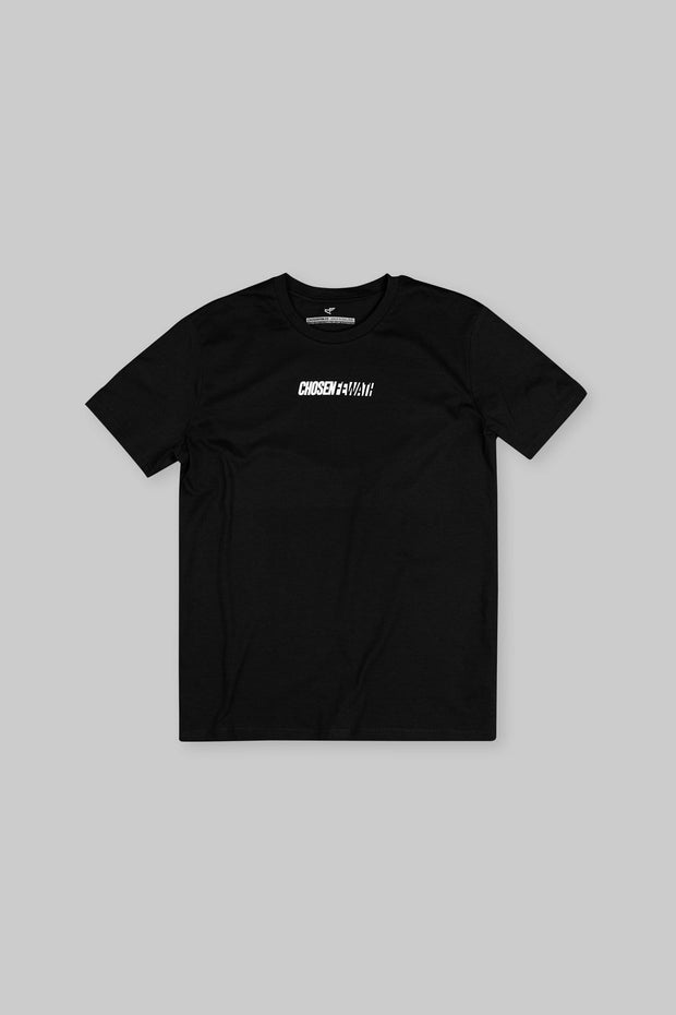CFA Blackout Tee Black & White