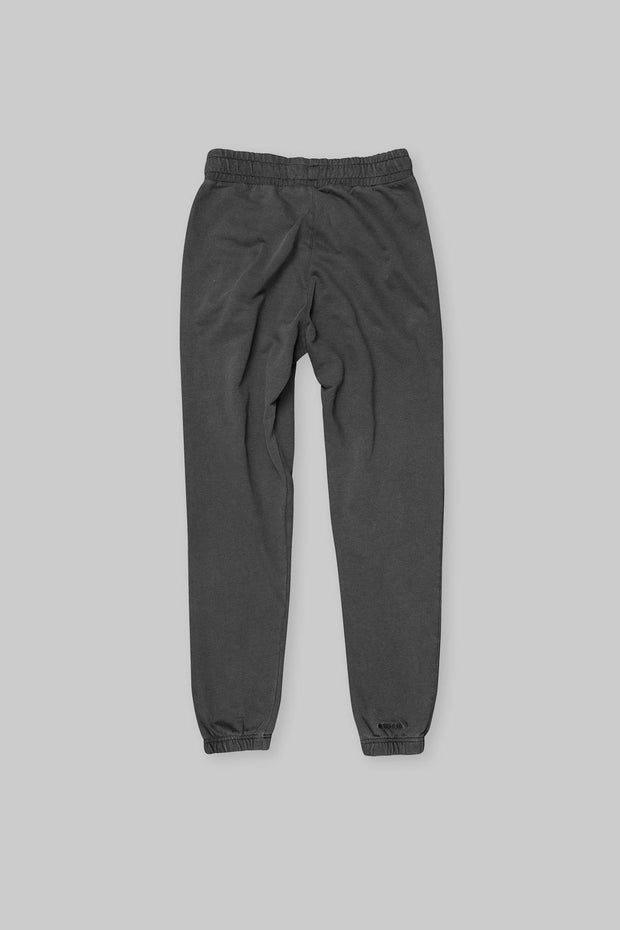 BRANDED TRACK PANT WASHED BLACK