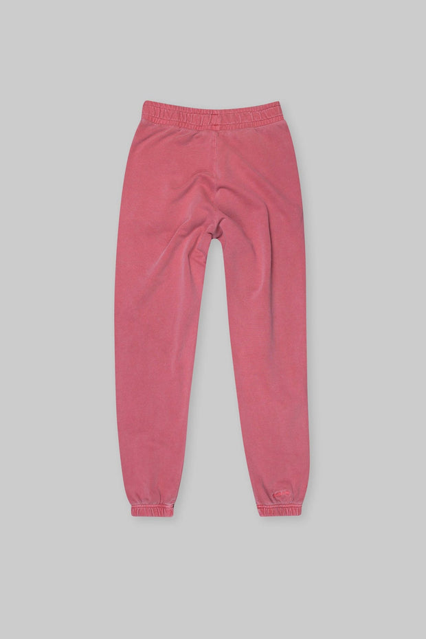 BRANDED TRACK PANT WASHED RED