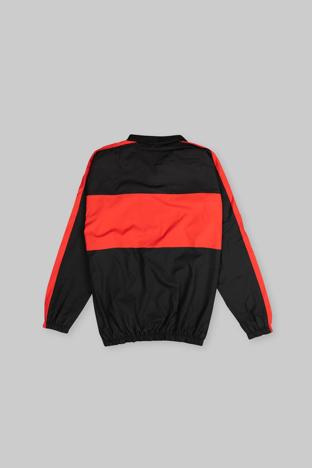 CAPO Panelled Shell Jacket Red