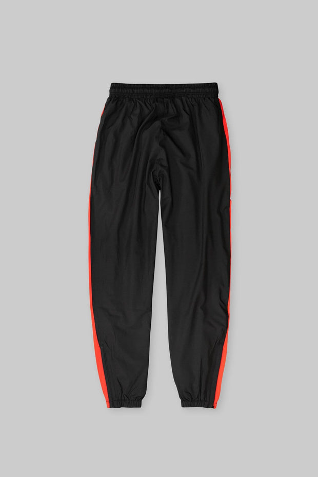 CAPO Panelled Shell Sweatpants Red