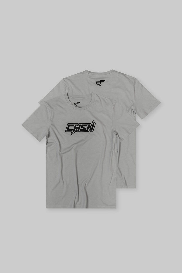 CHSN Tee Turtledove with Black