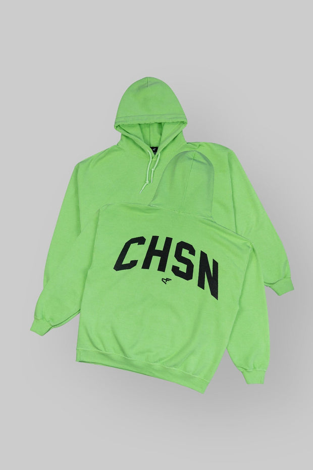 CHSN Oversized Hoodie Money Green