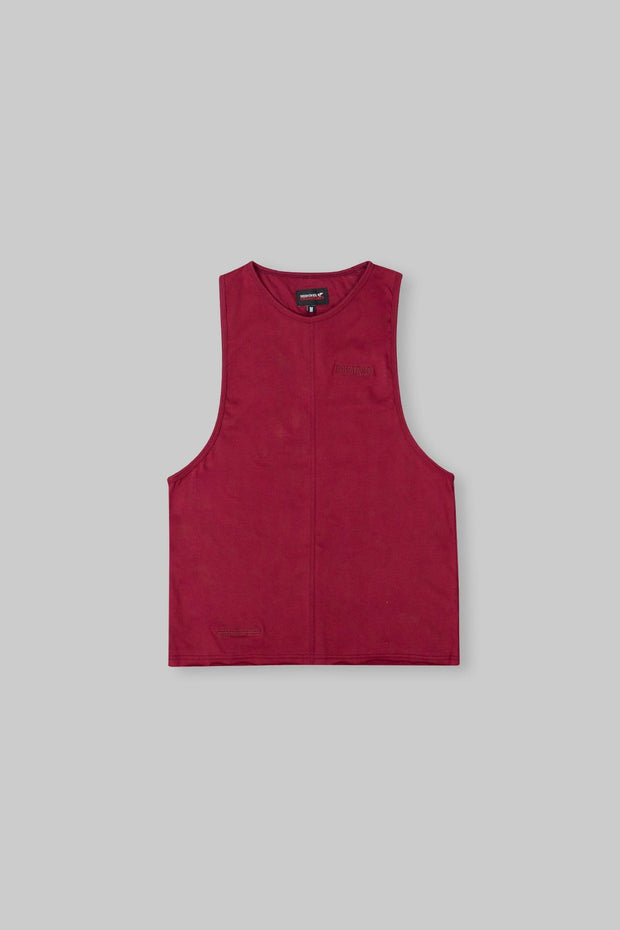 Essential Sleeveless-T Claret