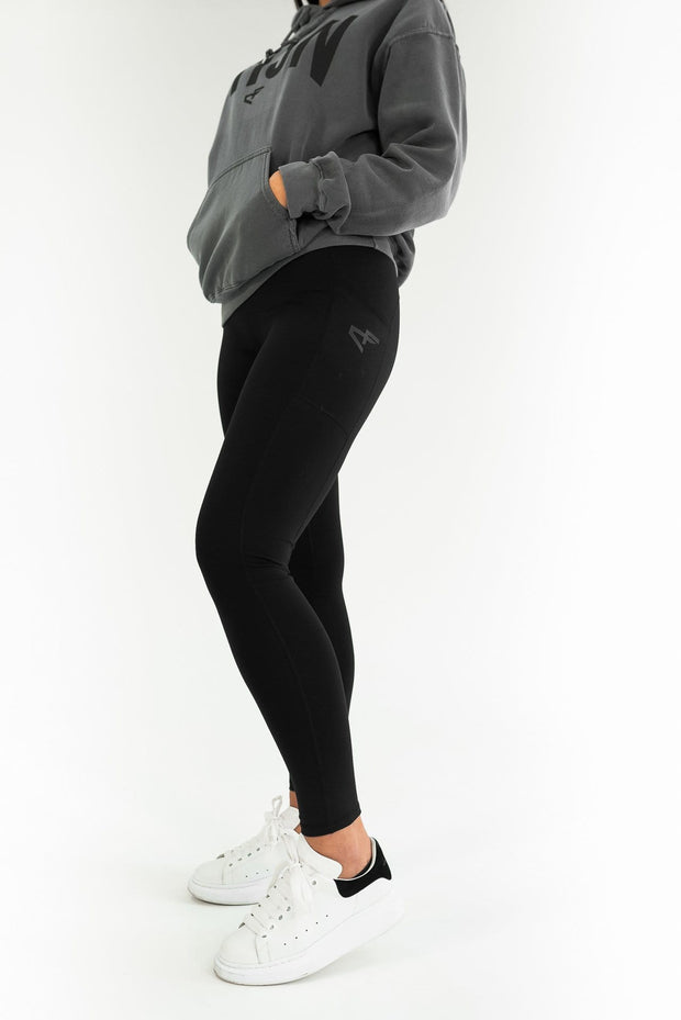 CORE HIGH WAISTED LEGGING BLACK
