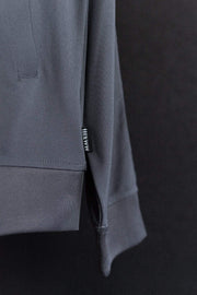 Performance Zip Hoodie Grey