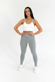 CORE HIGH WAISTED LEGGING GREY