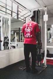 L.A Gym Official Tee Red