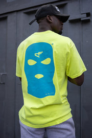 Bally Tee Neon Yellow & Blue