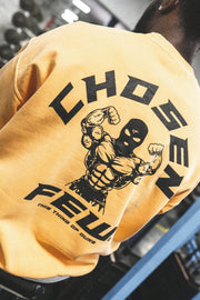 Retro 'G' Gym Crewneck Mustard Yellow & Black