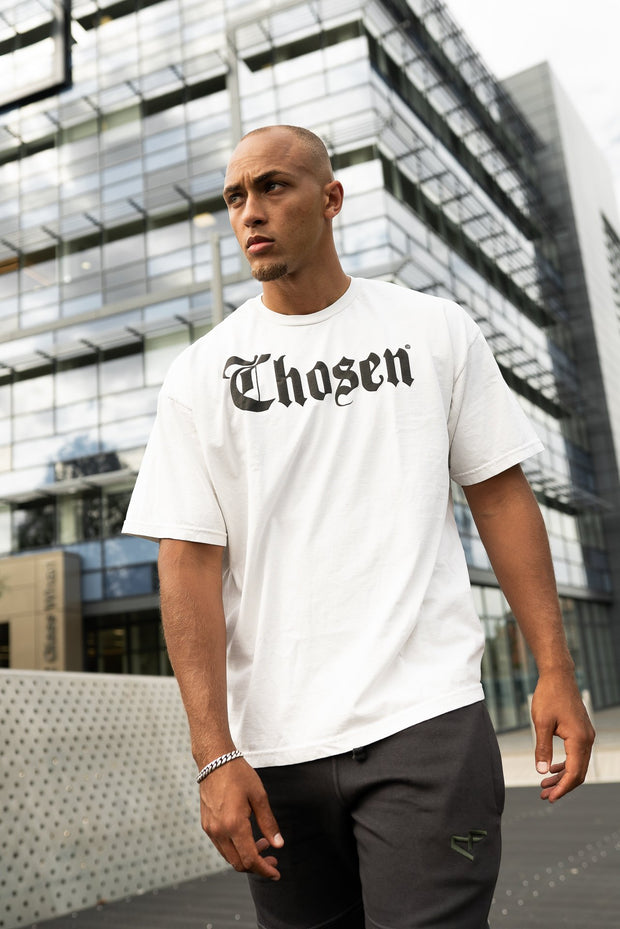 CHOSEN L.A. Tee Off White