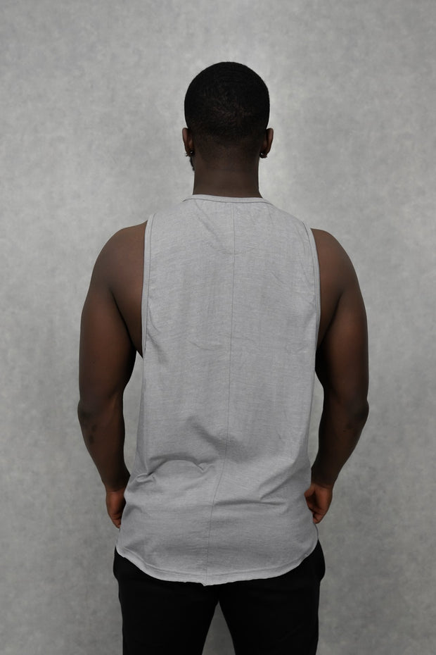 Essential Sleeveless-T Silver