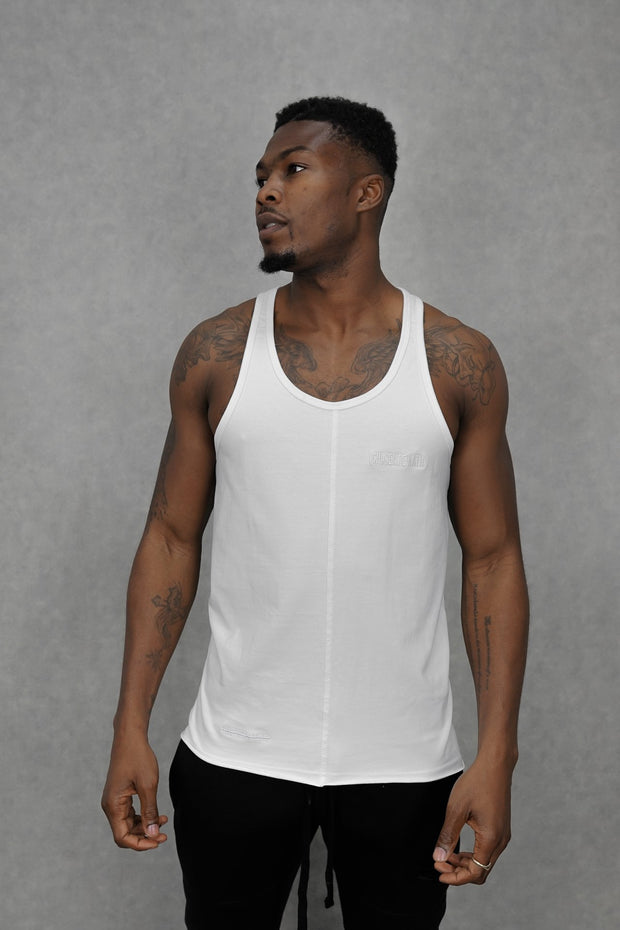 Essential Stringer Vest White