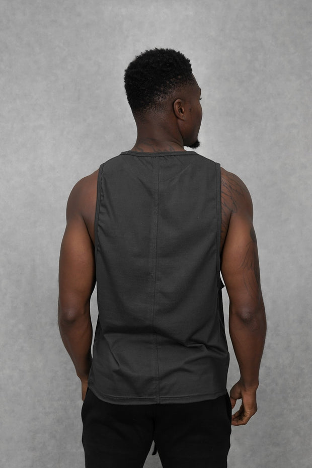 Essential Sleeveless-T Slate