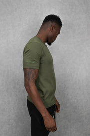 Essential T-Shirt Khaki Green