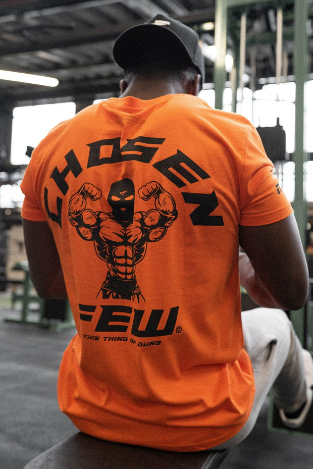 Fitted 'G' Gym Tee Orange