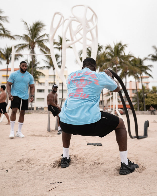 305 Edition - Retro 'G' Gym Tee Miami Beach