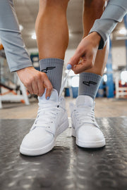 Performance Branded Sock Blue/Black