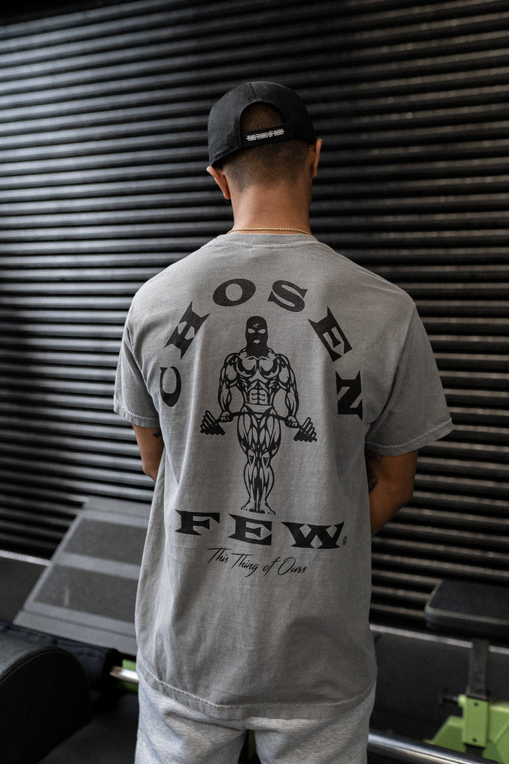 Retro 'OG' Gym Tee Gunmetal Grey