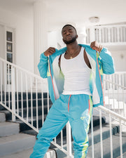 305 Edition - CAPO Panelled Shell Sweatpants Vice City