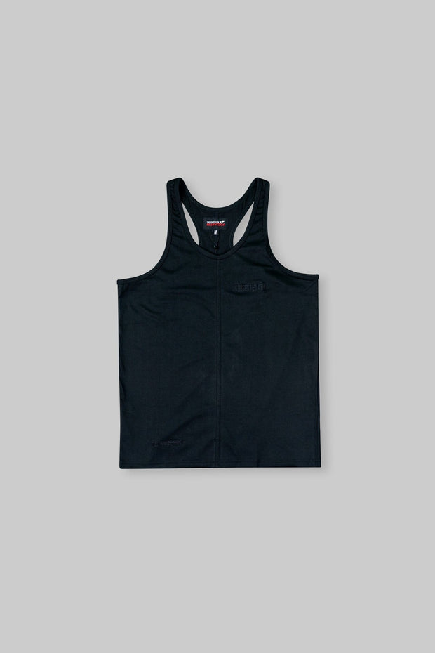 Essential Stringer Vest Black
