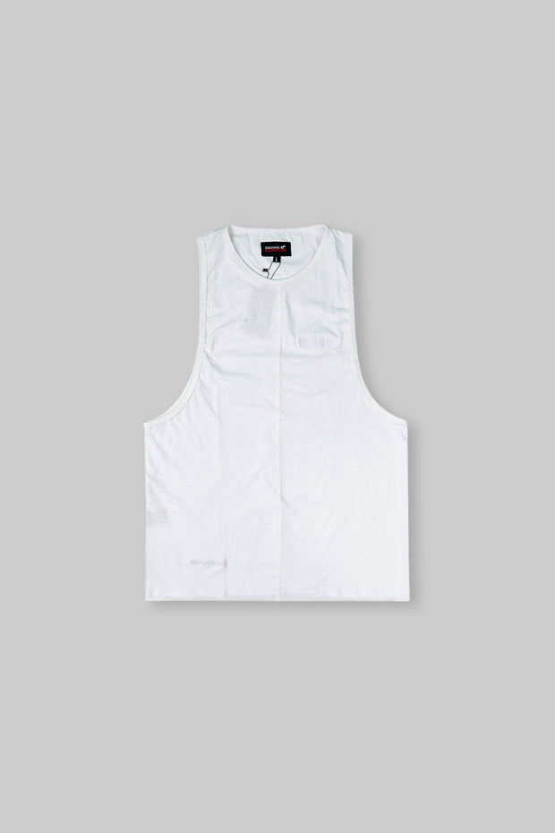 Essential Sleeveless-T White
