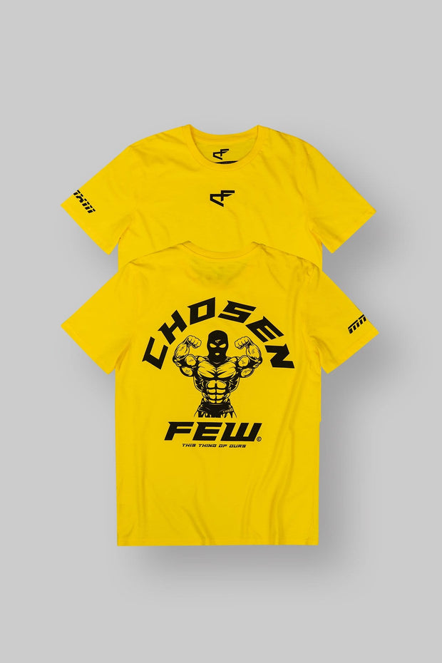 Fitted 'G' Gym Tee Yellow