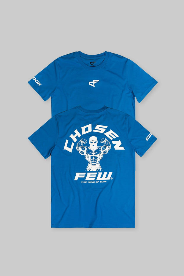 Fitted 'G' Gym Tee Blue