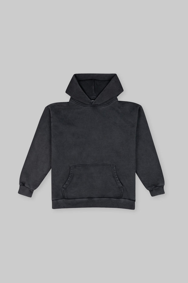 Heavy Hitter Hoodie Washed Black