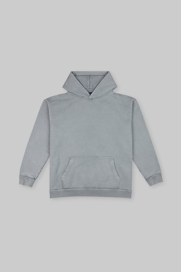 Heavy Hitter Hoodie Washed Grey