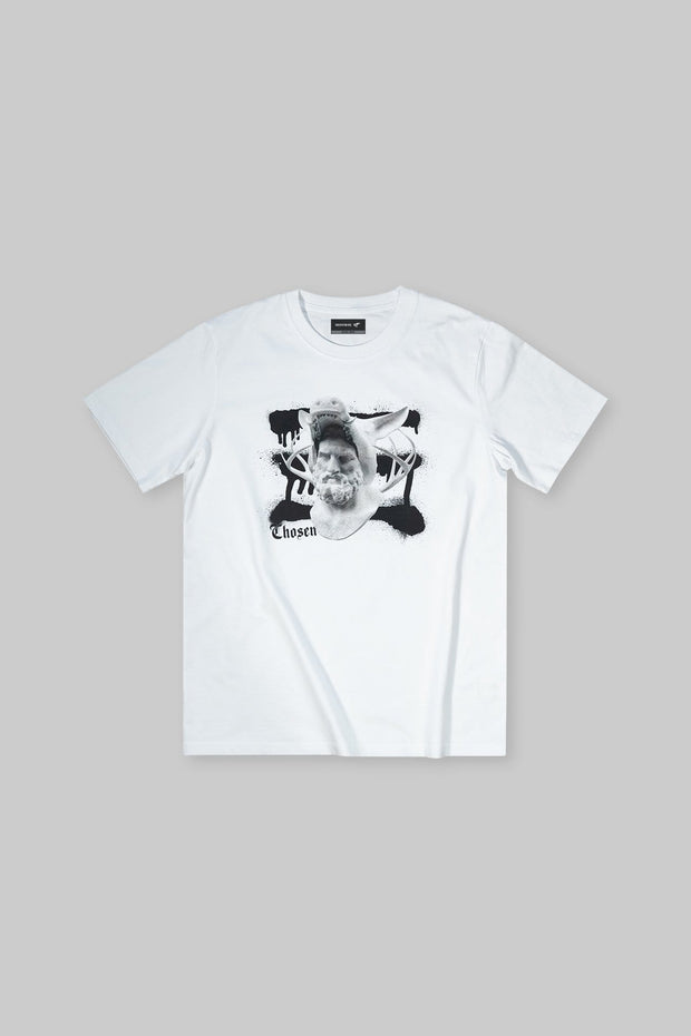 12 Labors Hind & Boar Tee White