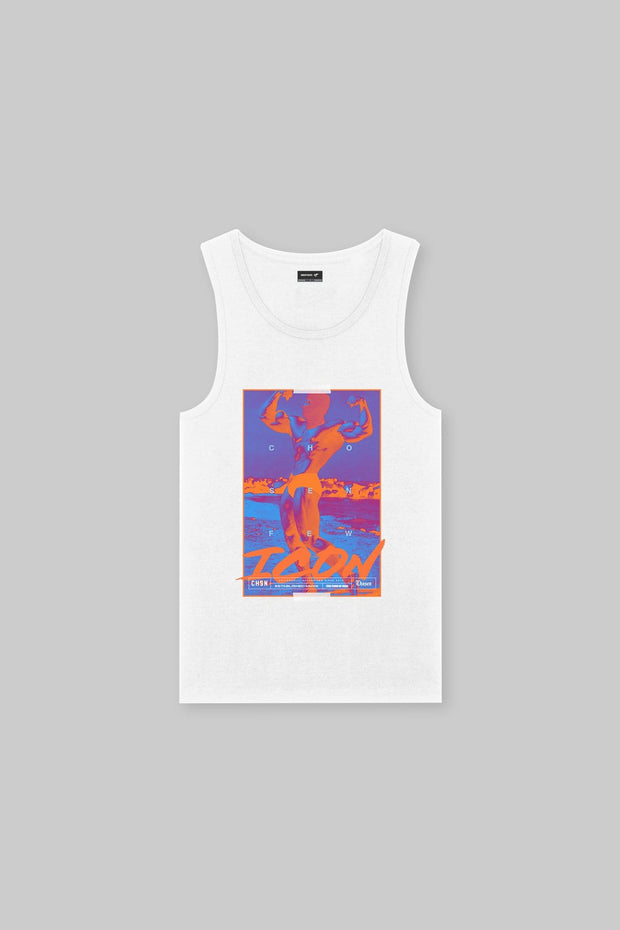 ICON - Mr Universe Tank White