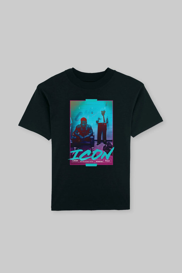 ICON - Iron Ambition Tee Black