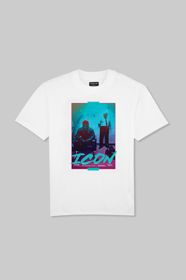 ICON - Iron Ambition Tee White