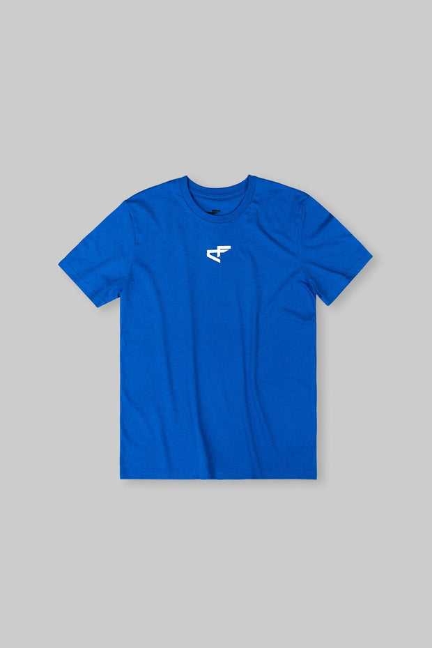 Logo Tee Heather Blue