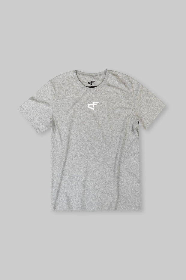 Logo Tee Heather Ash