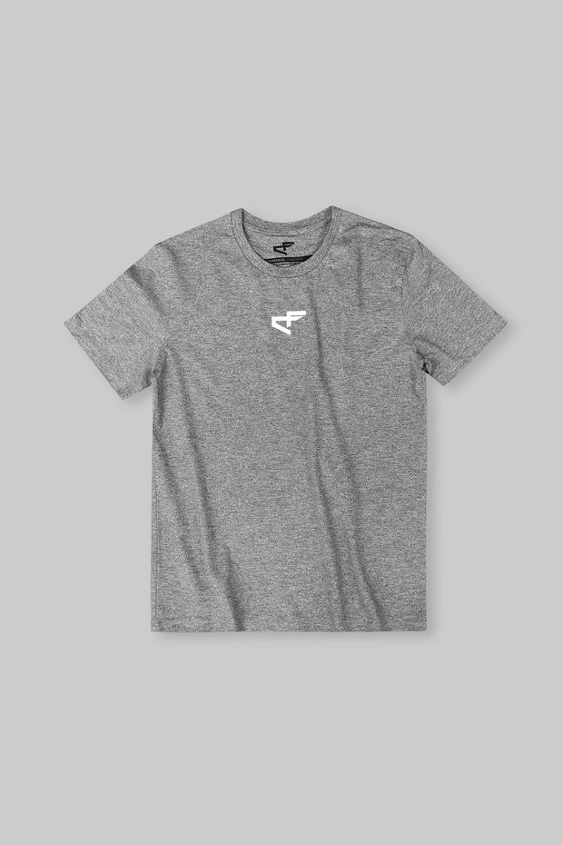 Logo Tee Heather Grey