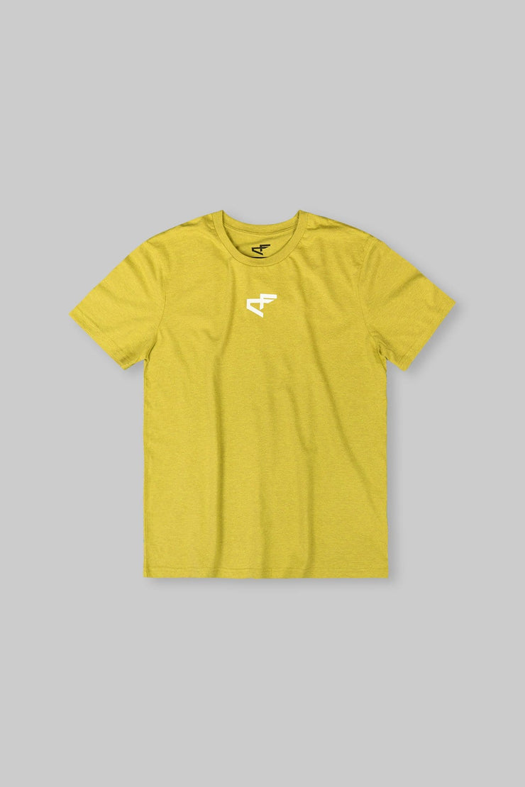 Logo Tee Heather Yellow