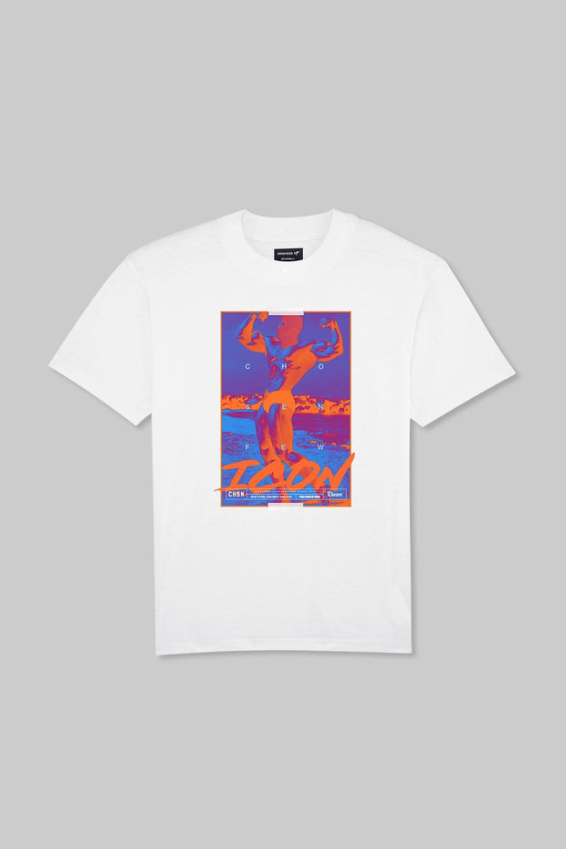 ICON - Mr Universe Tee White